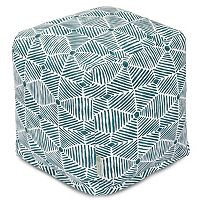 Majestic Home Goods Charlie Cube Pouf Ottoman