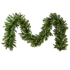 Vickerman 6-ft. Pre-Lit Faux Cashmere Garland