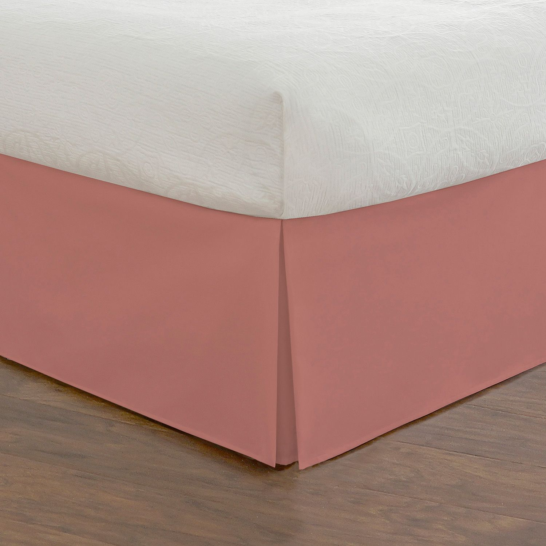 tailored poplin bed skirt