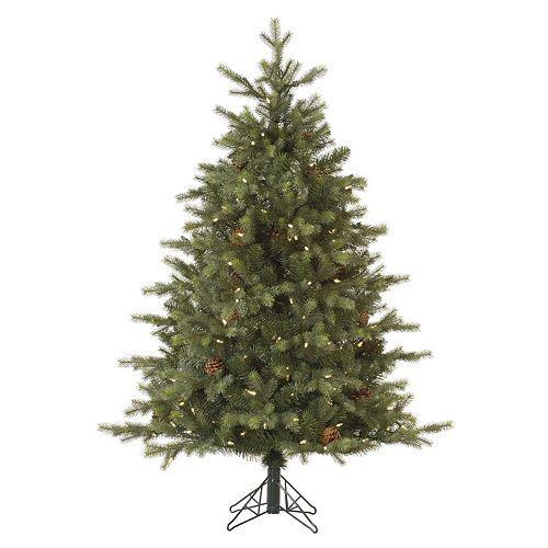 Vickerman 7.5-ft. Pre-Lit Rocky Mountain Fir Artificial Christmas Tree