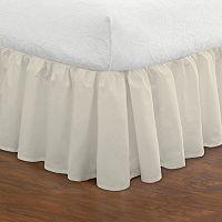 Ruffled Poplin Bed Skirt