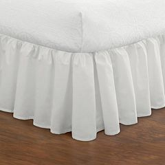Ruffled Poplin Bed Skirt