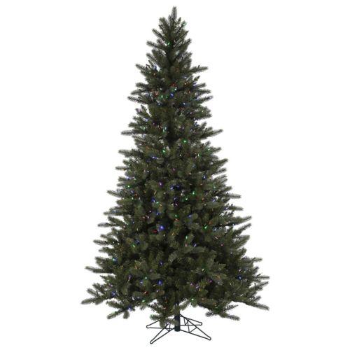 Vickerman 7.5-ft. Pre-Lit Spokane Artificial Christmas Tree