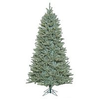 Vickerman 7.5-ft. Pre-Lit Slim Colorado Blue Spruce Tree Artificial Christmas Tree