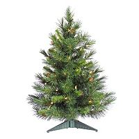 Vickerman 3-ft. Pre-Lit Cheyenne Pine Artificial Christmas Tree