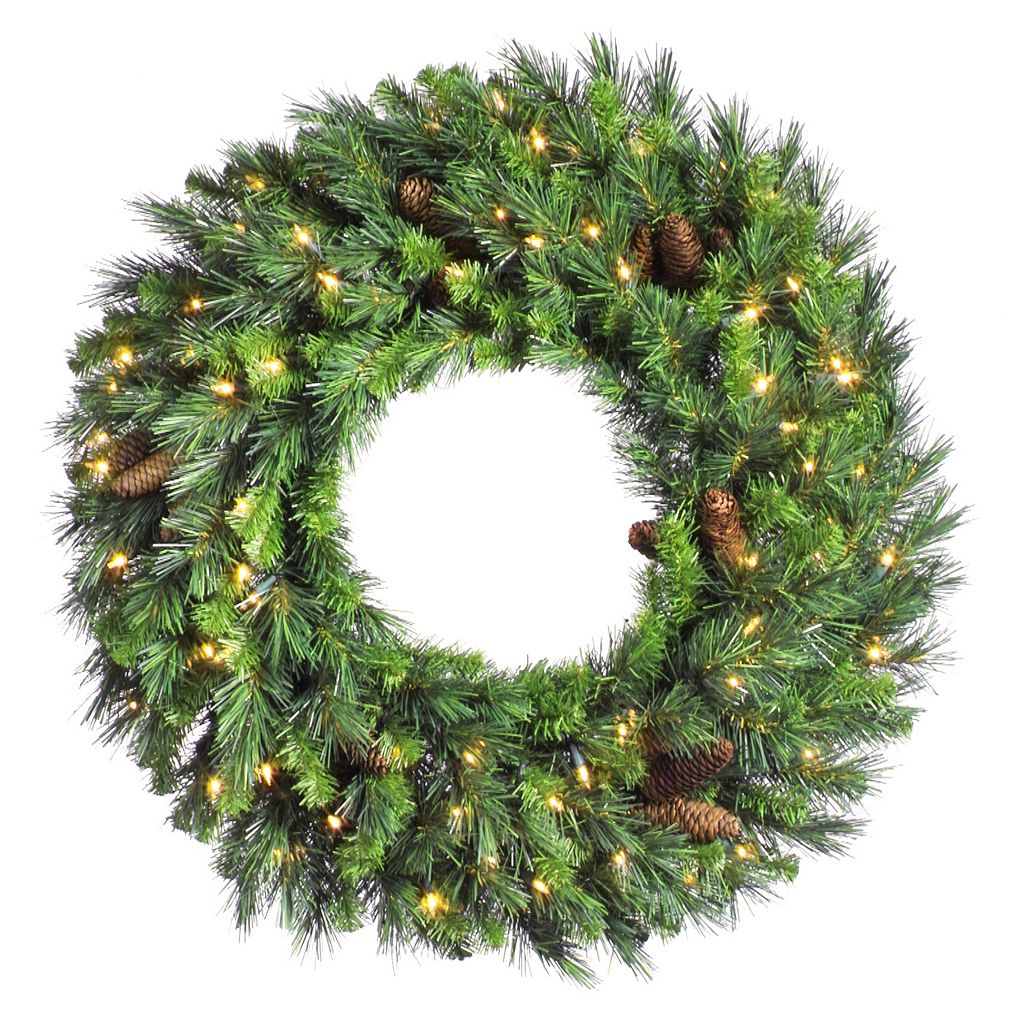 Vickerman 36-in. Cheyenne Artificial Pine Wreath