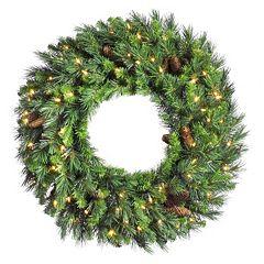 Vickerman 36-in. Cheyenne Artificial Pine Wreath