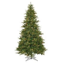Vickerman 9-ft. Pre-Lit Slim Mixed Country Pine Artificial Christmas Tree