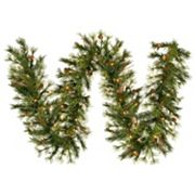 Vickerman 9-ft. Pre-Lit Mixed Country Pine Artificial Garland