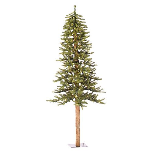 Vickerman 6-ft. Pre-Lit Natural Alpine Artificial Christmas Tree