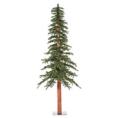 Vickerman 7-ft. Pre-Lit Natural Alpine Artificial Christmas Tree