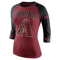 Women's Nike Arizona Diamondbacks Raglan Tee