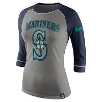 Women's Nike Seattle Mariners Raglan Tee