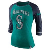 Women's Nike Seattle Mariners Raglan Tee