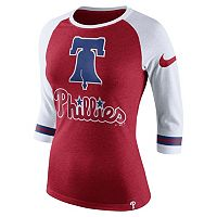 Women's Nike Philadelphia Phillies Raglan Tee