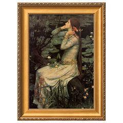 Art.com Ophelia, c.1894 Framed Wall Art