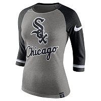Women's Nike Chicago White Sox Raglan Tee