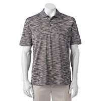 Men's Haggar In Motion Classic-Fit Striped Performance Polo