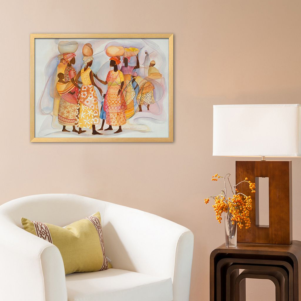 Art.com Girl Talk Framed Wall Art