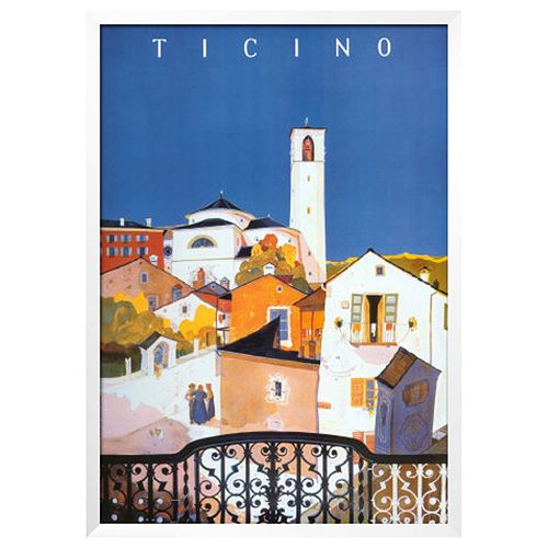 Art.com Ticino Framed Wall Art