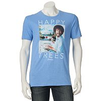 Men's Bob Ross Happy Trees Tee