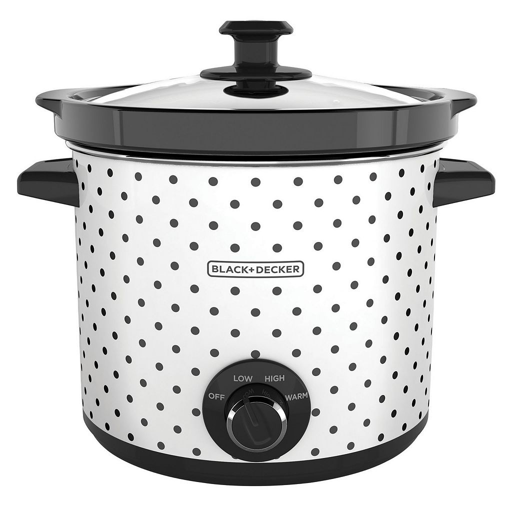 Black & Decker 4-qt. Polka-Dot Slow Cooker