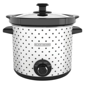 Black & Decker 4-qt. Polka-Dot Slow Cooker