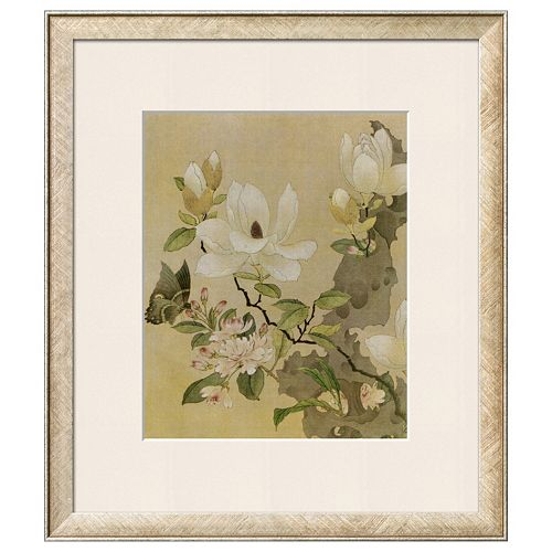 Art.com Magnolia & Butterfly Framed Wall Art