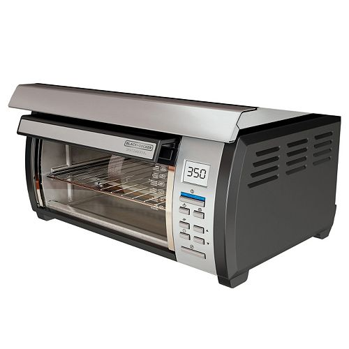 Black Amp Decker Spacemaker 4 Slice Toaster Oven