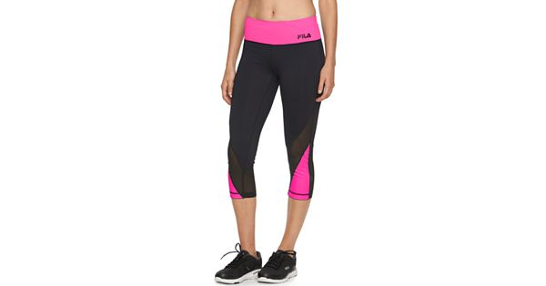 Fila Sports Towel: Women's FILA SPORT® Reflective Yoga Leggings