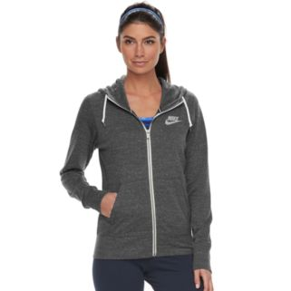 Women's Nike Gym Vintage Zip Up Hoodie