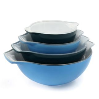 Creo Smartglass 4-pc. Ceramic Nesting Bowl Set