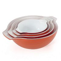 Creo Smartglass 4 pc Ceramic Nesting Bowl Set