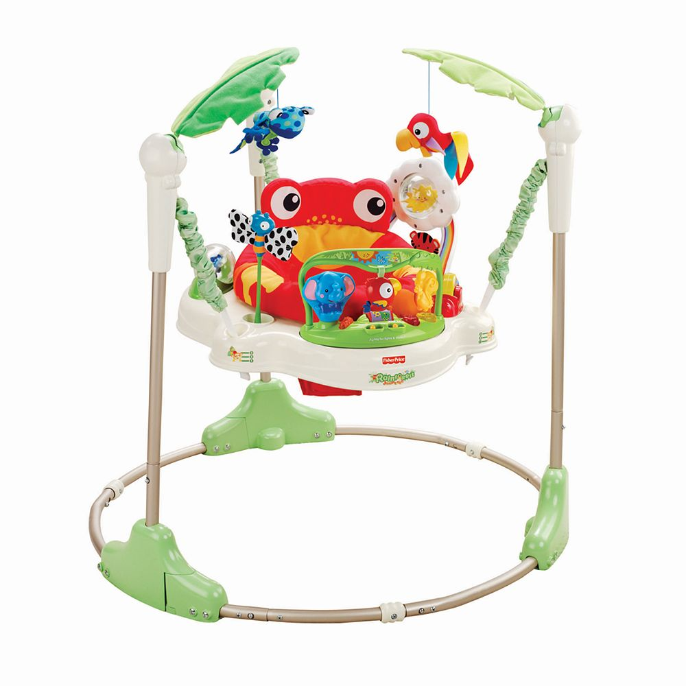 Fisher price jumperoo - Fisher Price Rainforest Jumperoo