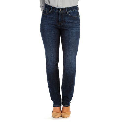 90367cb1 Women's Lee Modern Series Curvy Fit Straight-Leg Jeans