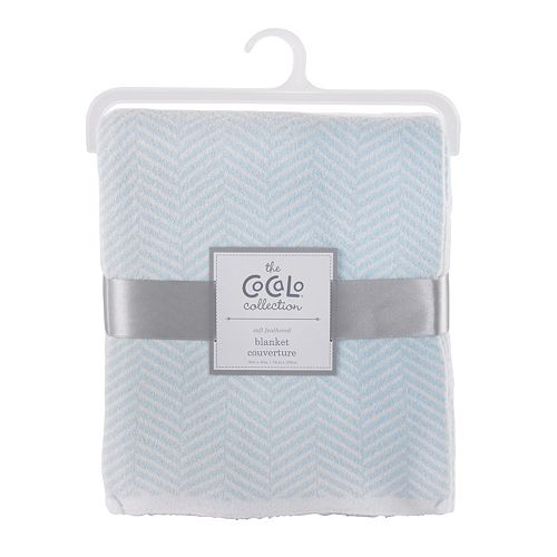 CoCaLo Voile Herringbone Knitted Blanket