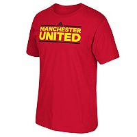 Men's adidas Manchester United Go-To climalite Tee