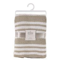 CoCaLo Voile Knitted Chenille Striped Blanket