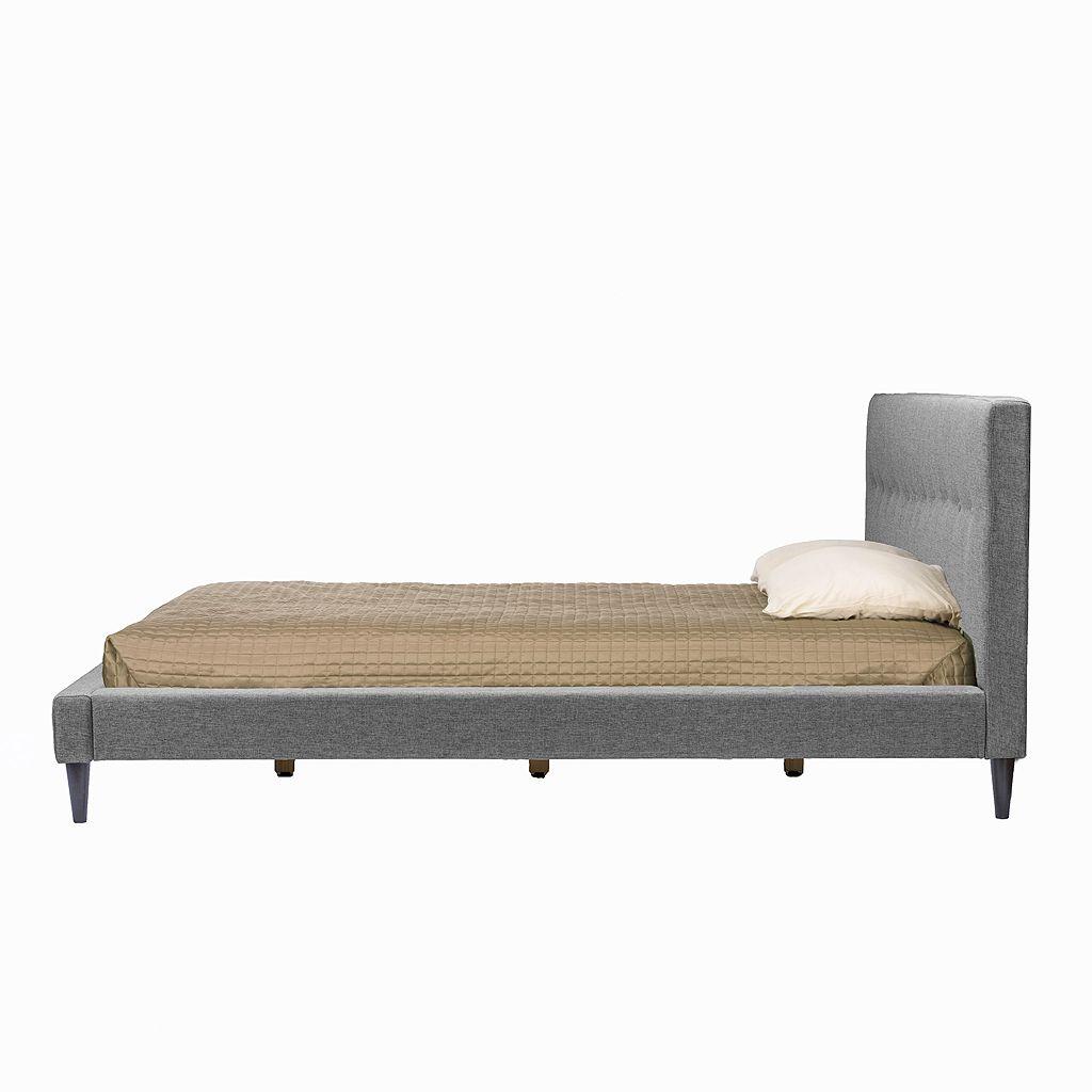 Baxton Studio Kind Size Callasandra Contemporary Bed