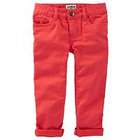 Girls 4-8 OshKosh B'gosh® Stretchy Knit Twill Pants