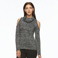 Women's Apt. 9® Cold-Shoulder Cowlneck Top