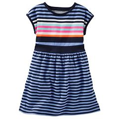Girls 4-8 OshKosh B'gosh® Drop-Shoulder Striped Dress