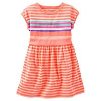 Girls 4-8 OshKosh B'gosh® Drop-Shoulder Striped Dress