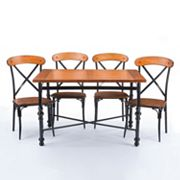 Baxton Studio Broxburn Dining 5 pc Set