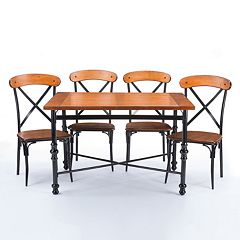 Baxton Studio Broxburn Dining 5-piece Set
