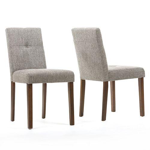 Baxton Studio Elsa Contemporary Dining Chair 2-piece Set