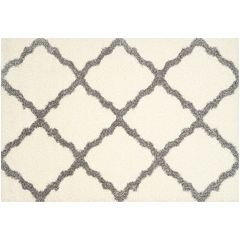 Safavieh Alberta Large Lattice Shag Rug