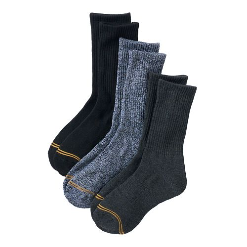 Boys GOLDTOE 3-Pack Crew Socks