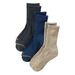 Boys GOLDTOE 3-Pack Crew Socks