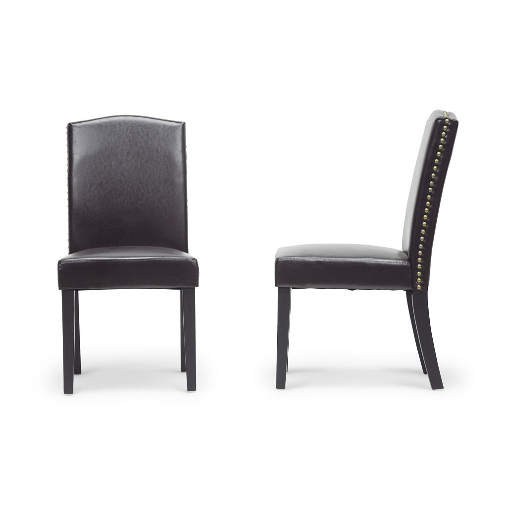 Baxton Studio Trullinger Modern Dining Chair 2-piece Set